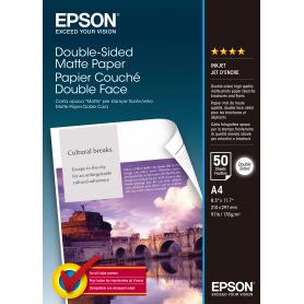 EPSON C13S041569 CARTA OPACA F/R A4 50F 168GR
