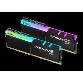 GSkill F4-3200C14D-16GTZR Trident Z RGB 16GB Kit 2x8GB DDR4 3200MHz CL14 Nero