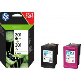 HP N9J72AE PACK CARTUCCE N.301  1xCH561EE/1xCH562EE