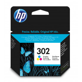 HP F6U65AE CARTUCCIA COLORI N.302 165PAG
