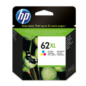 HP C2P07AE CARTUCCIA TRICOLOR 62XL 415PAG