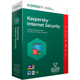 KASPERSKY INTERNET SECURITY 2019 3UTENTI 1ANNO SOFWARE BOX