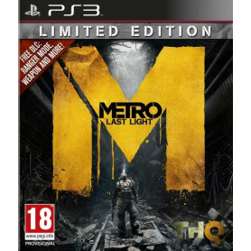 METRO LAST LIGHT LIMITED ED. PS3 GIOCO