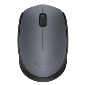 LOGITECH 910-04642 WIRELESS MOUSE M170 GRAY