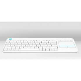 LOGITECH 920-007136 KEYBOARD K400PLUS WIRELESS TOUCH BIANCA
