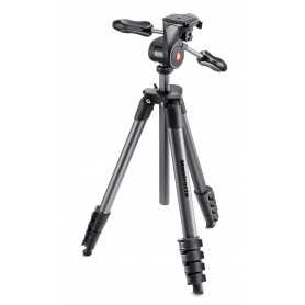 MANFROTTO MKCOMPACTADV-BK TREPPIEDE NERO