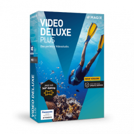 MAGIX VIDEO DELUXE PLUS SOFTWARE BOX ITA