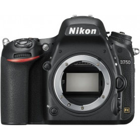 NIKON D750 BODY   SD 8GB O.S. REFLEX DIGITALE