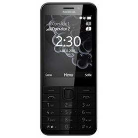 NOKIA 230 DS DARK-SLVER MOBILE PHONE