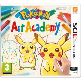 NINTENDO 3DS POKEMON ART ACADEMY GIOCO
