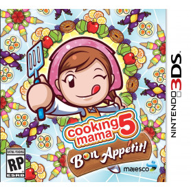 NINTENDO 3DS COOKING MAMA 5 GIOCO