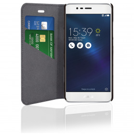 PHONIX ASZ3MBCB ECO LEATHER BOOK CASE - BLACK - ASUS ZENFONE 3 MAX 5.2   ZC520TL