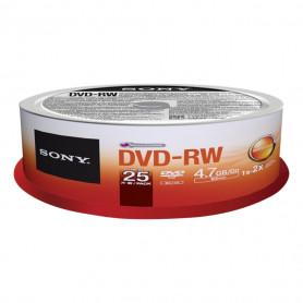 SONY 25DMW47SP DVD-RW 4X SPINDLE 25PZ