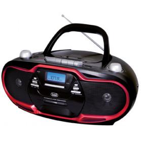 TREVI CMP 574 USB ROSSO CD MP3 USB RADIO REGISTRATORE