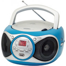 TREVI CD512 RADIO CD PORT. AUX IN NERO