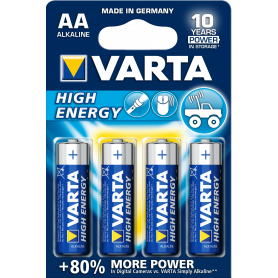 VARTA AA  stilo  - High Energy x4 4906121414