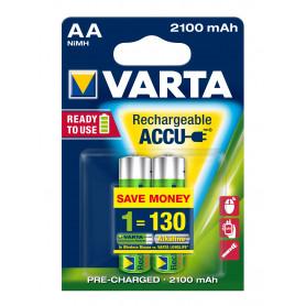 VARTA AA  stilo  x 2  2.100 mAh  RR ACCU  R2U   56706101402