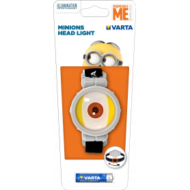 VARTA MINIONS HEAD LIGHT BATTERIA INCLUSA