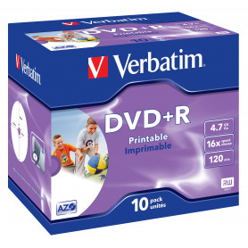 VERBATIM 43507/8 DVD R 4.7GB 16X STAMP.