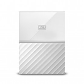 W.D. WDBYNN0010BWT MY PASSPORT 1TB BIANCO USB3.0