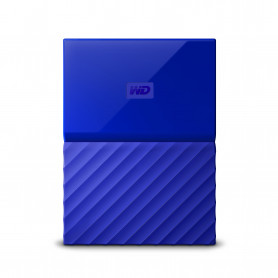 W.D. WDBYNN0010BBL MY PASSPORT 1TB BLUE USB3.0 HARD DISK 2.5