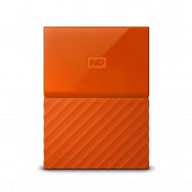 W.D. WDBYNN0010BOR MY PASSPORT 1TB ARANCIO USB3.0 HARD DISK 2.5