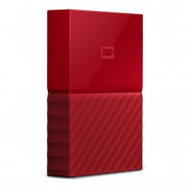 W.D. WDBYFT0040BRD MY PASSPORT 4TB USB3.0 ROSSO