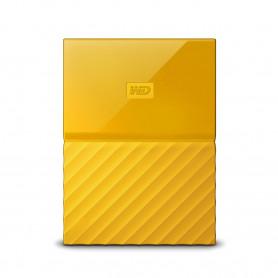 W.D. WDBS4B0020BYL MY PASSPORT 2TB 2.5   GIALLO USB3.0 HARD DISK EST.
