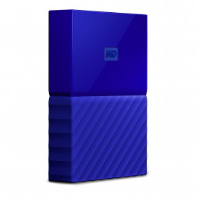 W.D. WDBYFT0040BBL MY PASSPORT 4TB BLUE USB3.0 2.5