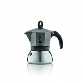 BIALETTI 4822 INDUCTION 3 TAZZE ANTRACITE MOKA