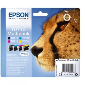 EPSON C13T07154022 MULTIPACK CARTUCCE GHEPARDO