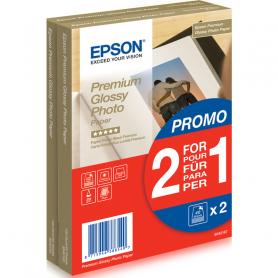 EPSON C13S042167 CARTA FOTOGRAFICA LUCIDA BEST 10X15 40FOGLI CONF 2X1