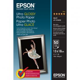 EPSON C13S041944 CARTA FOTO ULTRA GLOSSY 13X18CM 50F 300GR