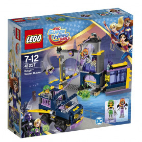 LEGO DC SUPER HERO GIRLS 41237 IL BUNKER SEGRETO DI BATGIRL