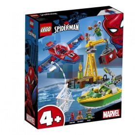 LEGO 76134 SUPER HEROES SPIDER-MAN: LA RAPINA DI DIAMANTI DI DOC OCK