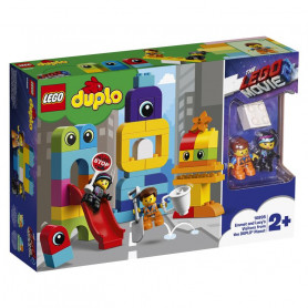 LEGO 10895 DUPLO LEGO MOVIE 2 DUPLO I VISITATORI DEL PIANETA DUPLO