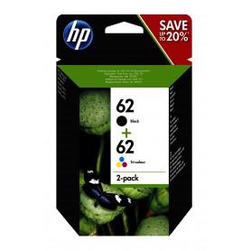 HP N9J71AE COMBO KIT CARTUCCE 62 NERO COLORI