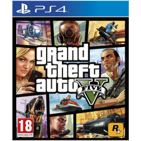 TAKE TWO GRAND THEFT AUTO V PS4 GIOCO  GTA 5