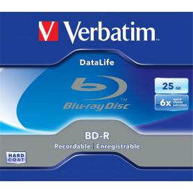 VERBATIM 43836  43753  BD-R 25GB J.C. SINGOLO LTH
