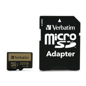 VERBATIM 44033 MICROSD PRO  U3 32GB   ADATTATORE
