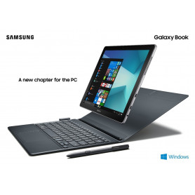 SAMSUNG SM-W627NZKBITV GALAXY BOOK 10,6  FHD TFTTABLET /21 NOTEBOOK INTEL M3-4GB-SSD64GB-WIN 10