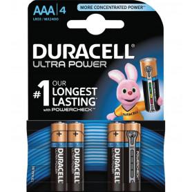 DURACELL ULTRA POWER MINISTILO AAA BL4 pz.