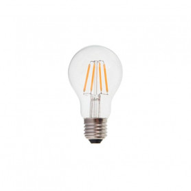 V-TAC LED Bulb - 4W Filament Patent E27 A60 Warm White Dimmable - NEW 4364