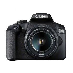 CANON EOS 2000D EFS18-55MMISII FOTOCAMERA REFLEX