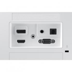 Panasonic KXTG6812 DECT Identificatore di chiamata Nero, Bianco