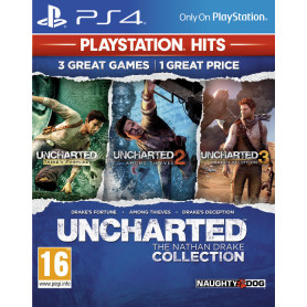 SONY UNCHARTED NATHAN DRAKE COLLECTION  PS4  PS HITS