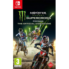 KOCH MONSTER ENERGY SUPERCROSS - THE OFFICIAL VIDEOGAME  SWITCH
