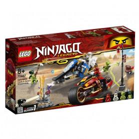 LEGO 70667 NINJAGO MOTO-LAMA DI KAI E MOTO-NEVE DI ZANE