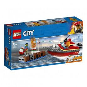 LEGO 60213 CITY FIRE INCENDIO AL PORTO