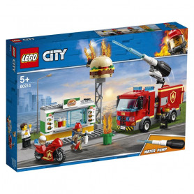 LEGO 60214 CITY FIRE FIAMME AL BURGER BAR